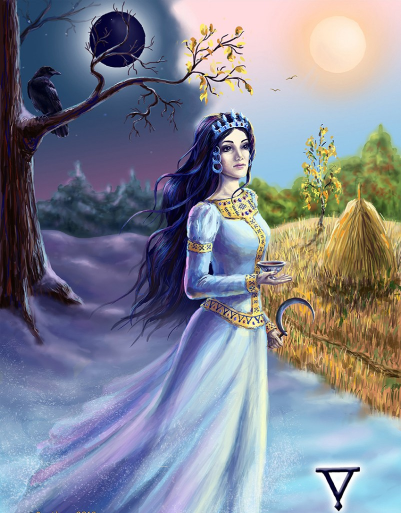 Богиня смерти в славянской мифологии