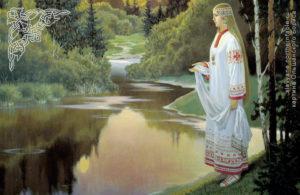 Кострома - покровительница влюбленных у славян