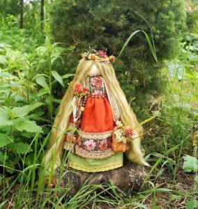 Кукла берегиня - символ славянского народа