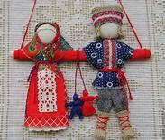 куколки не разлучники - символ семейного благополучия