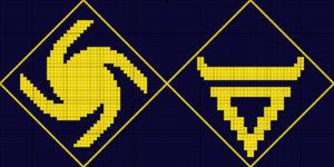 схема вышивки знака велеса и влесовика