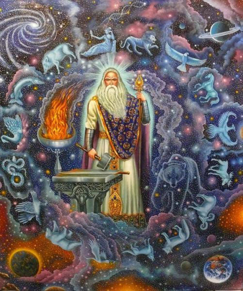 Сварог – бог неба у славян – 420