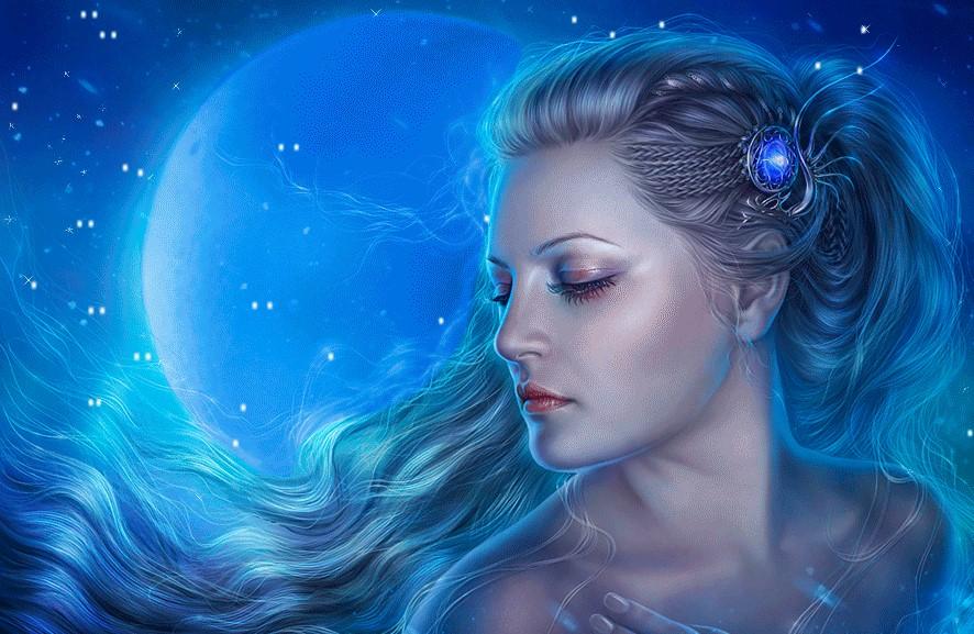 Луна - символ женственности