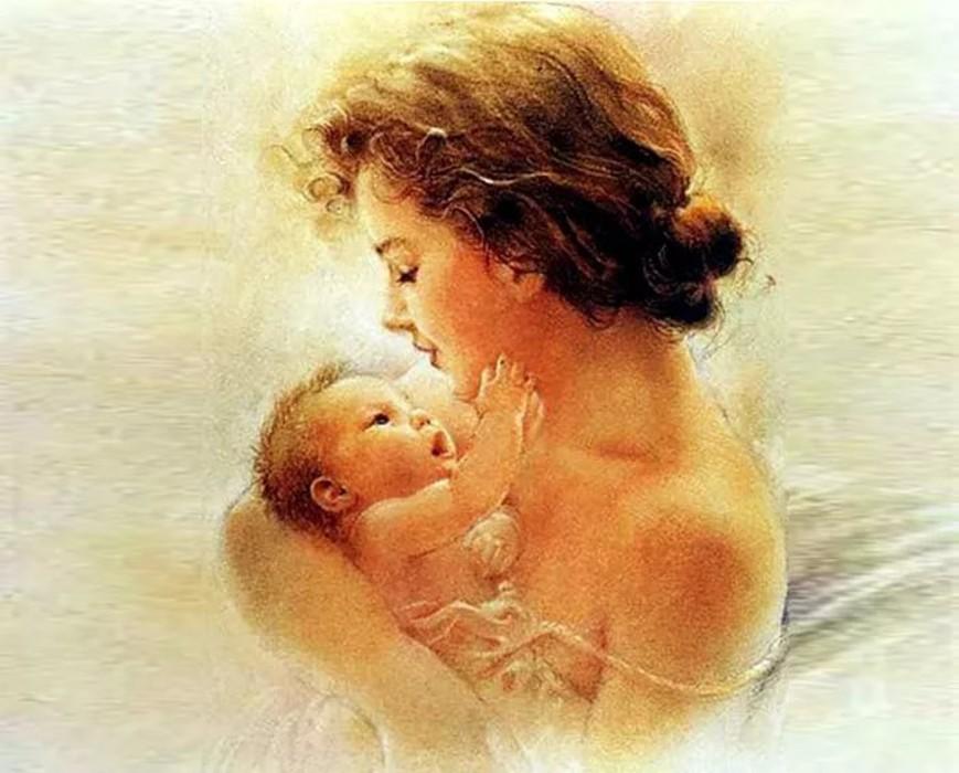 Мать и дитя картинки красивые, ангелом как красиво