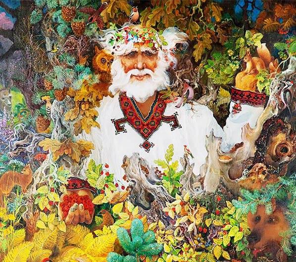 Авсень — бог осени в славянской мифологии