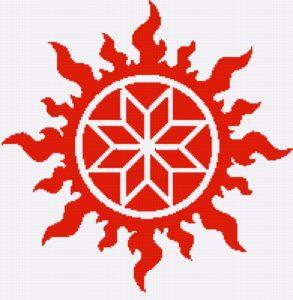 Алатырь - символ бога Рода