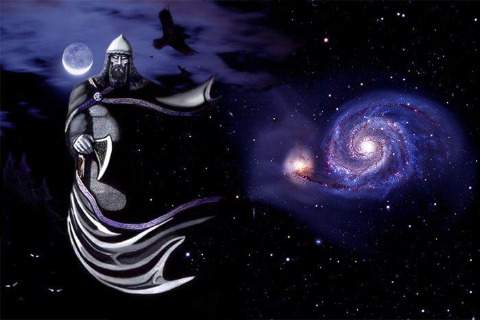 Чернобог — славянский бог разрушения и повелитель теней