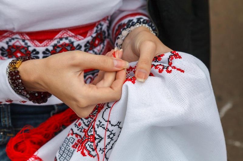 обережная вышивка