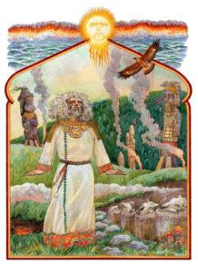 Хорс славянский Бог солнечного света и покровитель земледелия