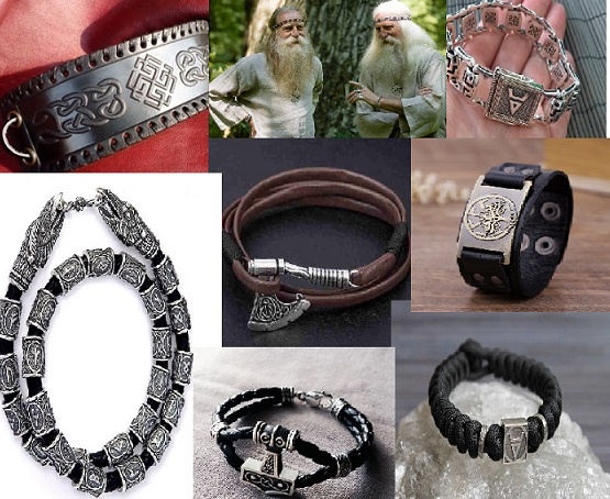 мужские обережные браслеты