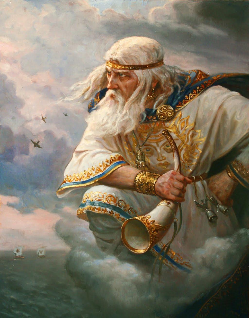 Бог ветра в славянской мифологии – Стрибог