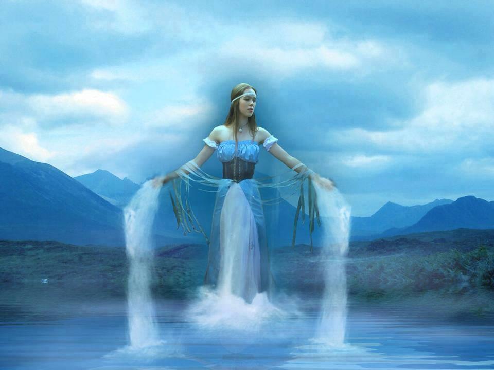 Богиня воды у славян