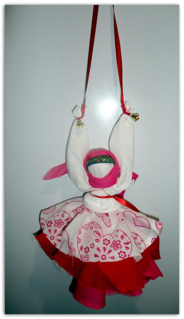 Кукла колокольчик - защита домашнего очага