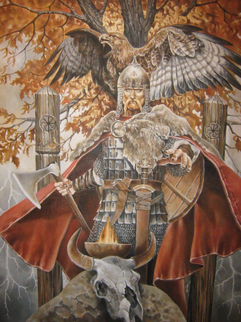 Перун поровитель чертога орла