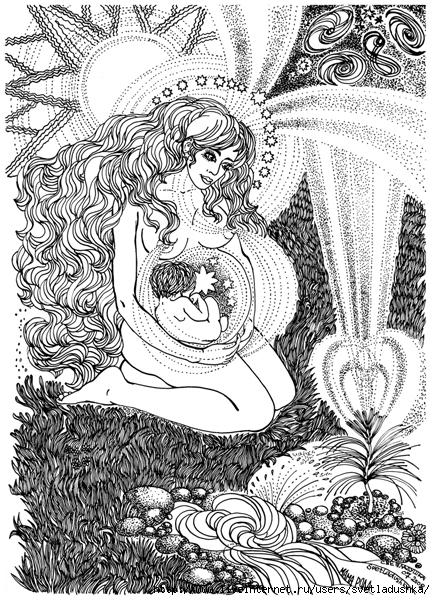 Рожана - покровительница чертога щуки