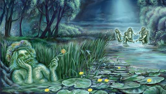 3 апреля день пробуждения водяного