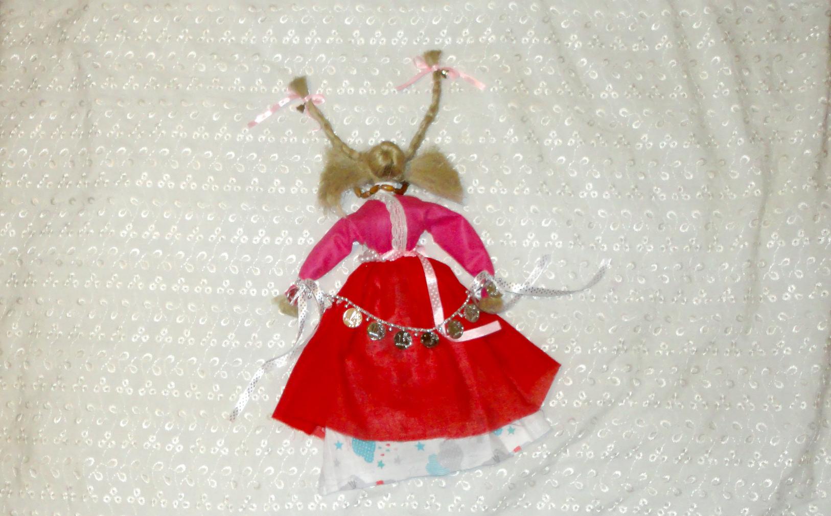 Кукла оберег коза