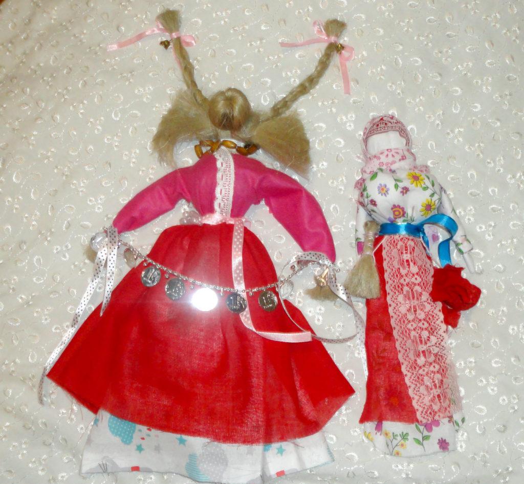 рождественские куклы