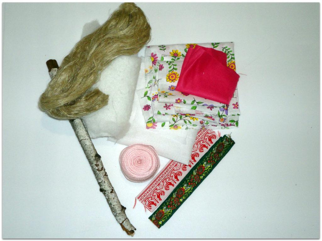 Материалы для куклы рождественской
