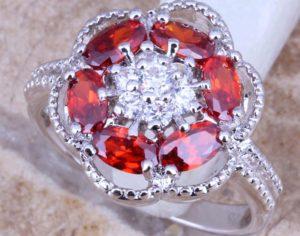 камень талисман красный топаз