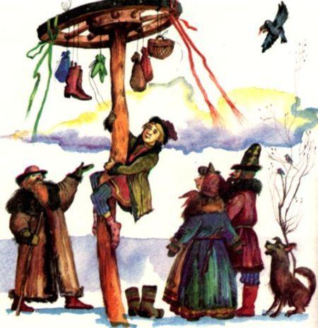 Масленичные гулянья, традиции и игры в день прощания с зимой