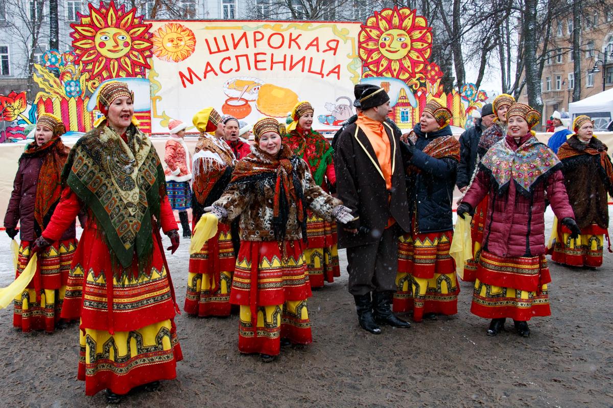 Как праздновали масленицу в древней руси