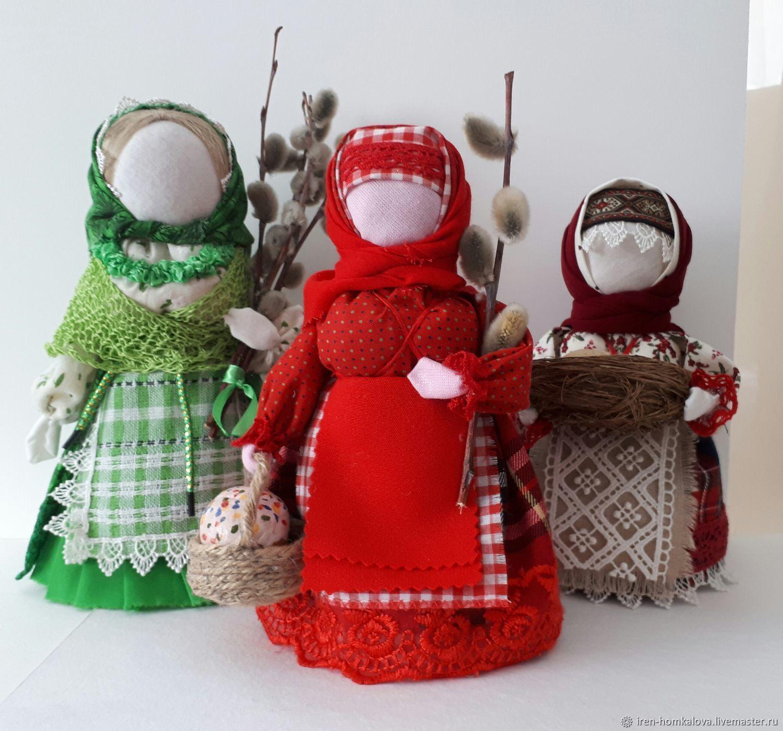Пасхальная кукла оберег