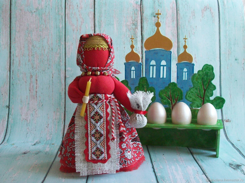 Кукла пасхальная, символ жизни и оберег семьи, как сделать своими руками