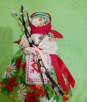 Верба - главный атрибут куклы вербница
