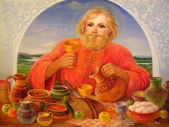 Бог веселья у славян - Квасура