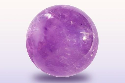 аметистовый шар