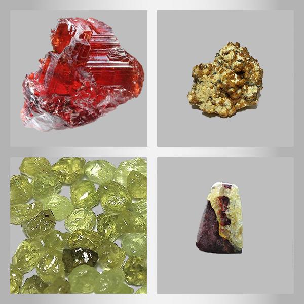 разновидности камня гранат