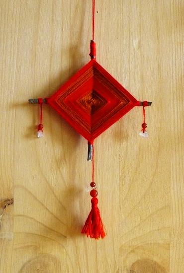 Крест из рябины