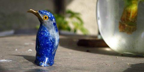 лазуритовая птица для привлечения удачи