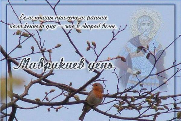 7 марта маврикиев день