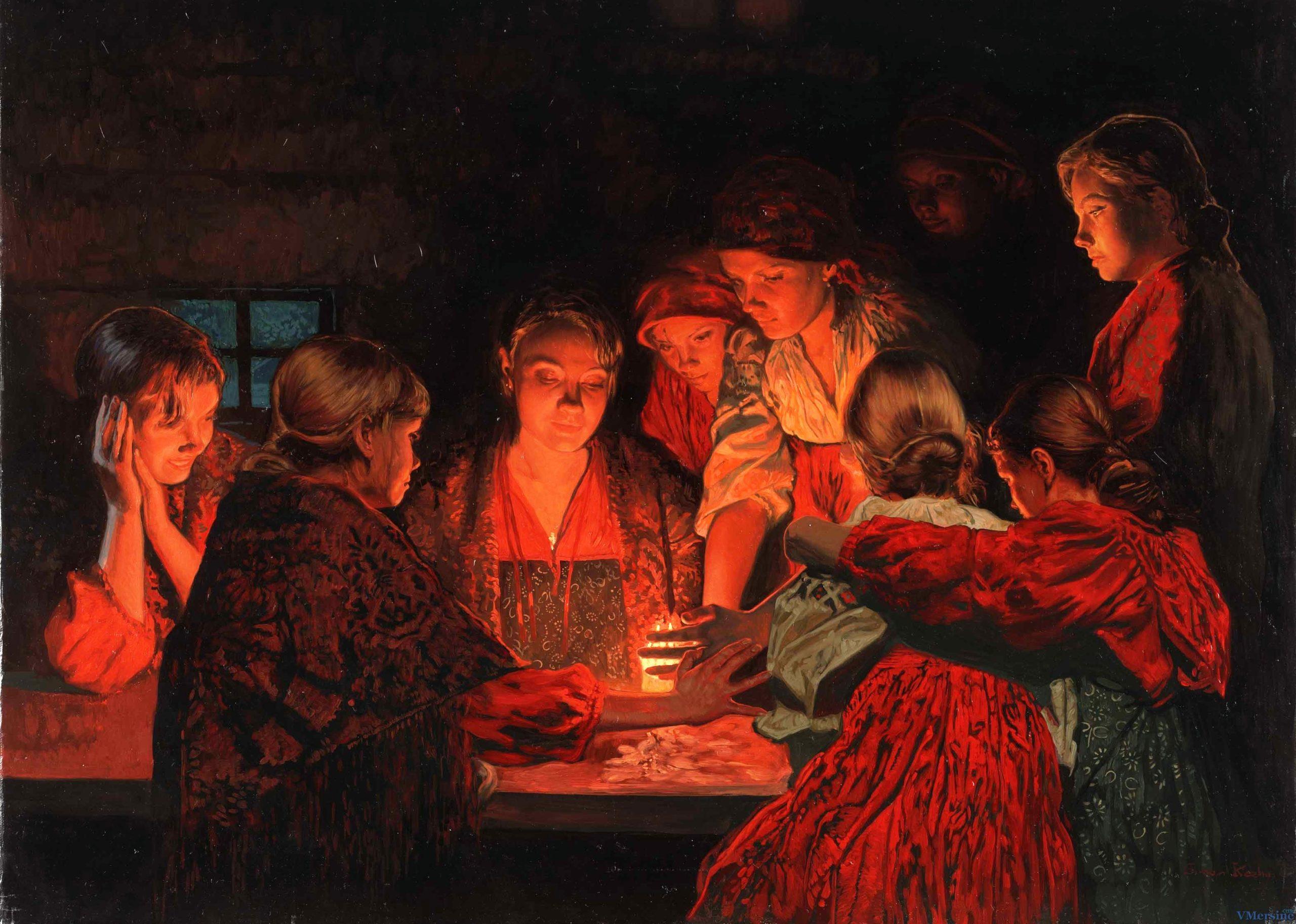 святочные гадания