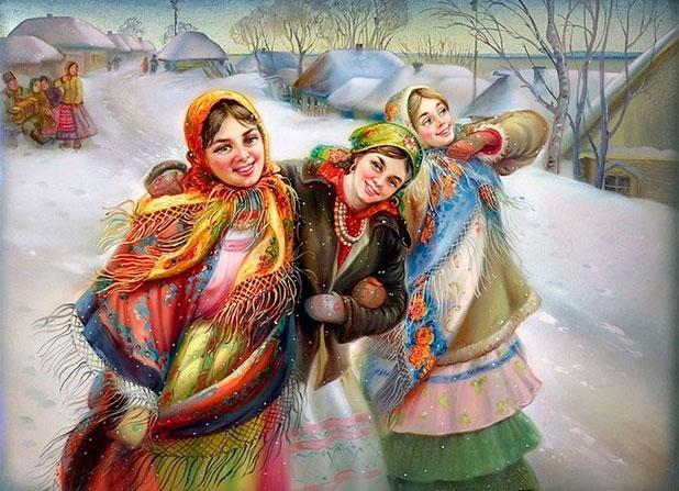 январь в народном календаре