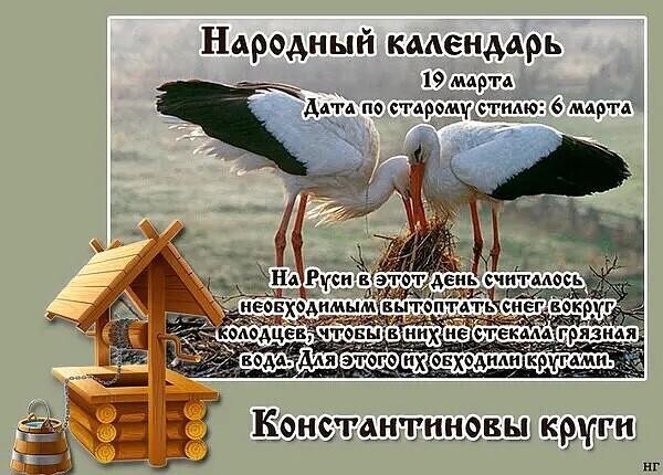 19 марта в народном календаре